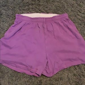 Purple kids shorts